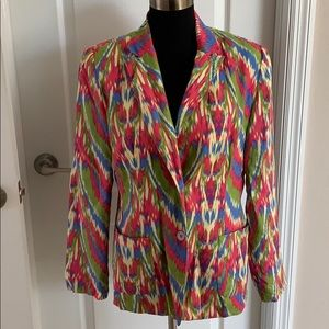 Ladies Linen Jacket-Size 8